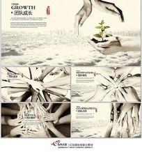 中国风企业团队精神