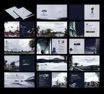 中国风地产画册设计