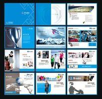 服装加盟宣传画册设计
