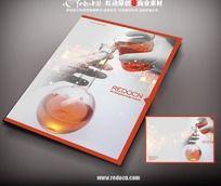 生物科技宣传册封面