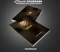 真皮产品画册封面设计