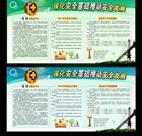 2013年安全生产月宣传栏