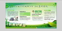 节能绿色环保展板