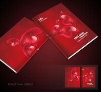 红色婚庆封面