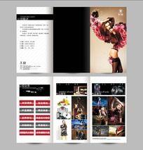 简洁大方摄影设计公司折页