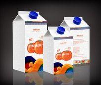 橙汁饮品包装