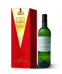 红酒包装礼盒设计红盒(正面展开图)