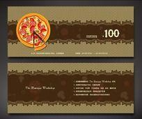 披萨西餐代金券
