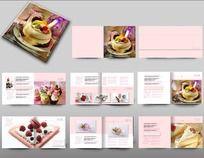 甜品宣传画册设计