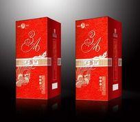 西凤酒包装设计PSD分层平面图