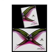 X型炫彩图案封面设计