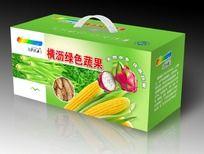 绿色蔬果农产品包装
