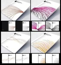 个性白色画册封面设计