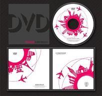 粉色时尚创意光盘系列模板