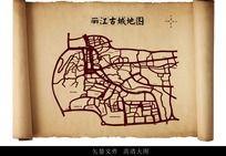 丽江古城地图