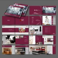 简洁橱柜产品宣传画册设计CDR