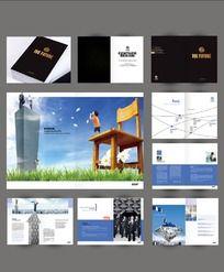 工程建筑宣传画册