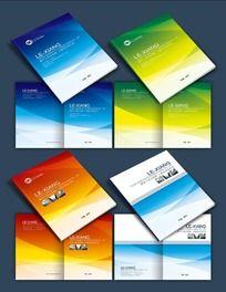 10款 简洁大气画册封面设计PSD素材下载