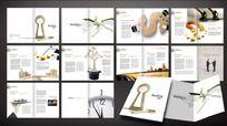 商务金融画册