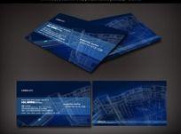 建筑规划设计名片