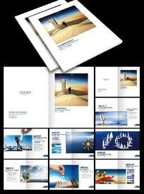 企业公司画册模板素材下载 PSD