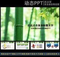 竹子背景纪检监察会议PPT