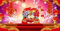 中式婚礼视频片头