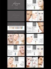 化妆品美容画册设计
