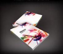 绚丽时尚创意画册封面