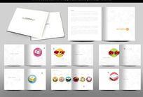 精美糕点画册设计