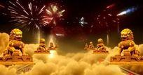 金狮子开业典礼视频 mov