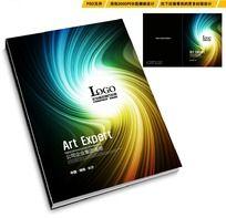 流线型质感高档画册封面设计