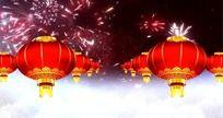 大红灯笼视频 春节灯笼视频