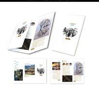 11款 旅游三折页版式设计PSD下载