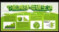 节能减排环保展板设计