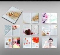 靓丽化妆品画册设计
