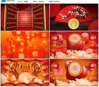 开门红歌曲背景视频