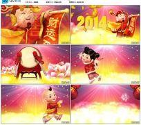 马年开场视频 2014新年晚会通用开场视频