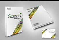 绿色环境旅游封面素材
