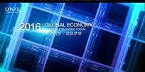 未来规划科技研究会议背景板