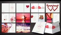 婚纱摄影公司画册设计 PSD