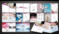 浪漫婚礼画册设计