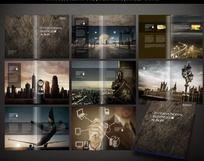 欧式品质地产画册设计 PSD