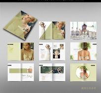 时尚性感内衣画册设计