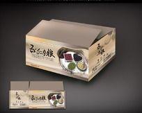 五谷杂粮包装箱设计