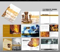 金融理财画册设计