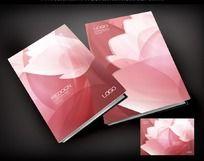 粉色花瓣封面设计
