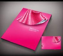 粉色裙摆封面设计