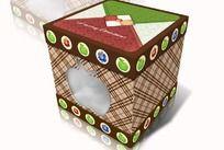 苹果礼盒包装设计