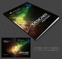 创意电子科技画册封面设计